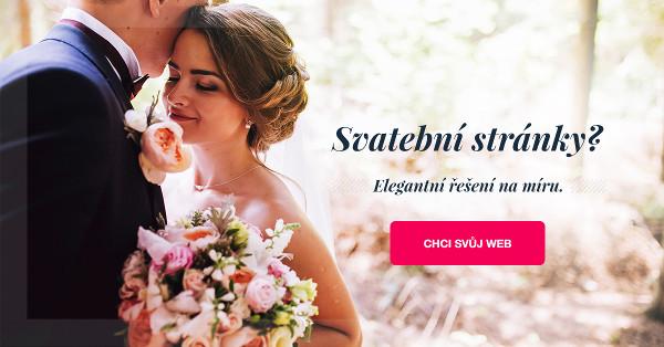 Svatební web pro váš perfektní den