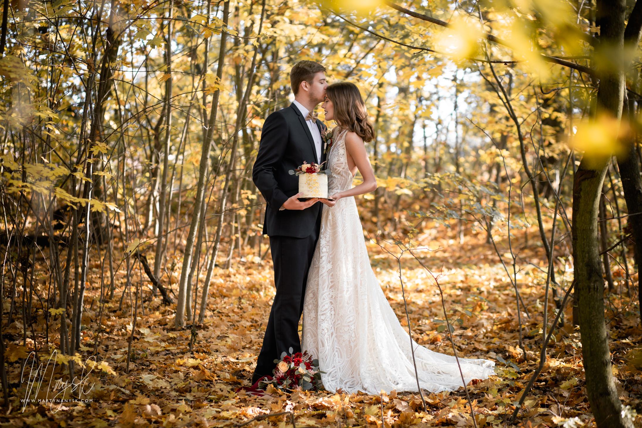 Podzimní svatební editorial